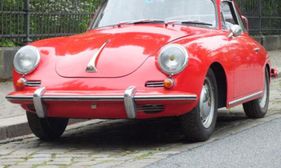 Porsche 356c rot kaufen in Dresden bei HK Classics GmbH